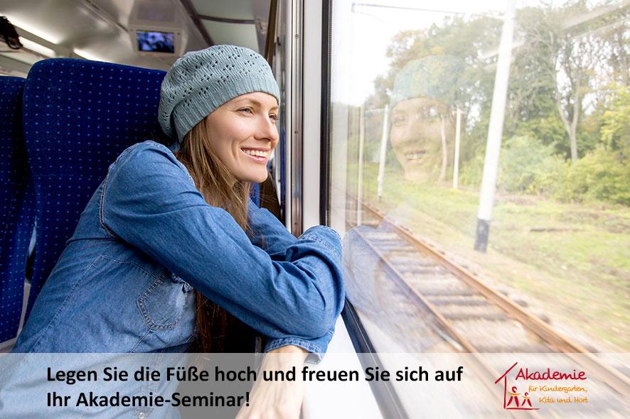 Das Veranstaltungsticket der Akademie & der Deutschen Bahn